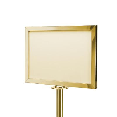 Стенд информационный 917 (золото)