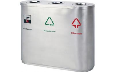 Урна для раздельного сбора мусора Artbin Lento