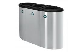 Урна для раздельного сбора мусора Artbin Grave-3